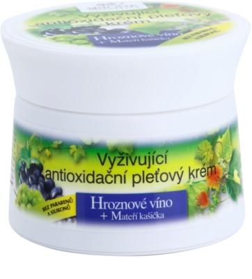 Bione Cosmetics Grapes crema nutritiva antioxidante  para el rostro