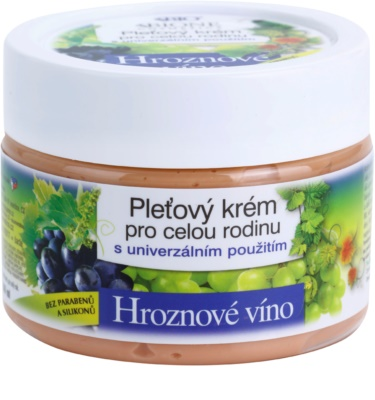 Bione Cosmetics Grapes pleťový krém pro celou rodinu bez parabenů