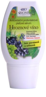 Bione Cosmetics Grapes Antioxidans-Serum gegen Falten ohne Parabene