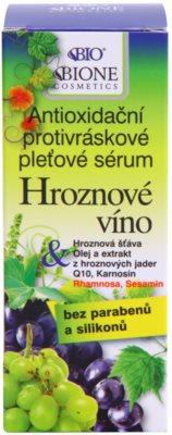 Bione Cosmetics Grapes antioksidantni serum proti gubam brez parabenov 2