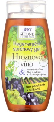 Bione Cosmetics Grapes gel de banho regenerador