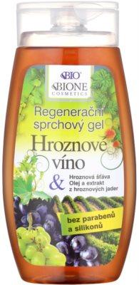 Bione Cosmetics Grapes gel de ducha regenerador