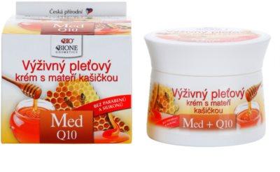 Bione Cosmetics Honey + Q10 výživný krém s mateří kašičkou 1