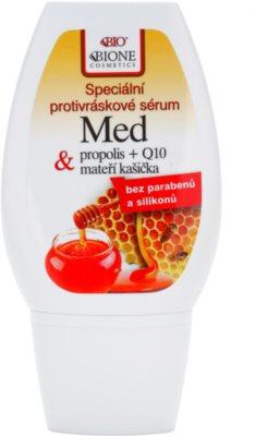 Bione Cosmetics Honey + Q10 posebni serum proti gubam
