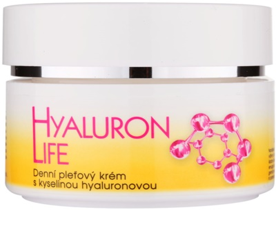 Bione Cosmetics Hyaluron Life crema de fata zi cu acid hialuronic