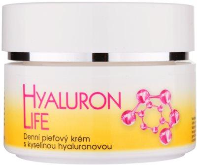 Bione Cosmetics Hyaluron Life crema facial de día  con ácido hialurónico