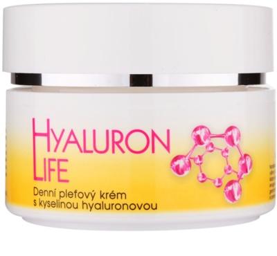Bione Cosmetics Hyaluron Life creme de dia para o rosto com ácido hialurônico com ácido hialurónico