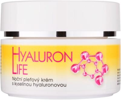 Bione Cosmetics Hyaluron Life Creme facial noturno com ácido hialurônico com ácido hialurónico