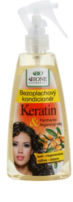 Bione Cosmetics Keratin Argan acondicionador en spray sin enjuague