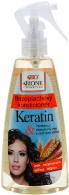 Bione Cosmetics Keratin Grain acondicionador en spray sin enjuague