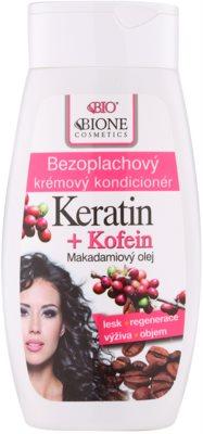 Bione Cosmetics Keratin Kofein kremowa odżywka bez spłukiwania