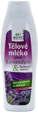 Bione Cosmetics Lavender подхранващ лосион за тяло