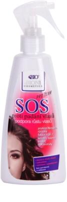 Bione Cosmetics SOS sprej pro zdravý růst vlasů od kořínků