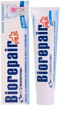 Biorepair Plus Sensitive pasta reparatorie a smalrulului dintilor pentru dinti sensibili 1