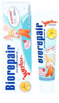 Biorepair Junior pasta de dientes para niños sabor fresa 1