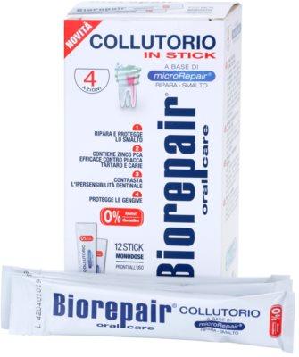 Biorepair Plus ustna voda za krepitev in obnovo zobne sklenine potovalno pakiranje 1