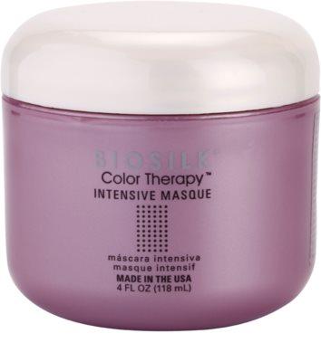 Biosilk Color Therapy intenzivní maska pro ochranu barvy