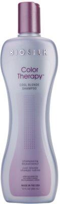 Biosilk Color Therapy šampon neutralizující žluté tóny