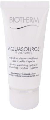 Biotherm Aquasource Biosensitive Feuchtigkeitscreme für normale und gemischt empfindliche Haut