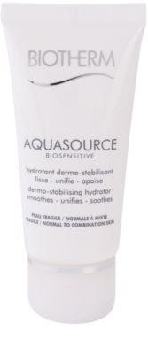Biotherm Aquasource Biosensitive hidratáló krém normál és kombinált, érzékeny bőrre