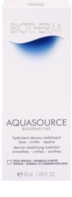 Biotherm Aquasource Biosensitive crema hidratanta pentru piele sensibila normala-combinata 3