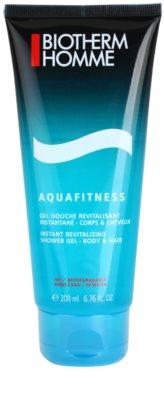 Biotherm Aquafitness gel de duche e champô 2 em 1
