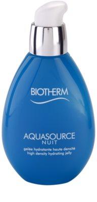 Biotherm Aquasource Nuit emulsão hidratante para todos os tipos de pele