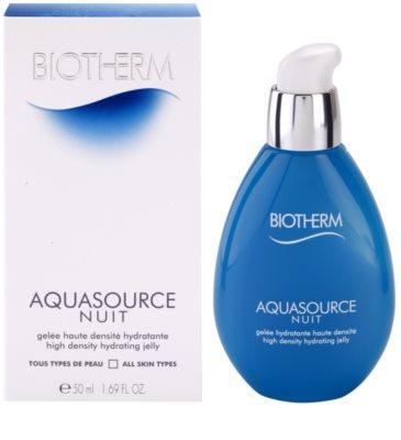 Biotherm Aquasource Nuit Feuchtigkeitsemulsion für alle Hauttypen 2