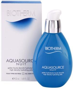 Biotherm Aquasource Nuit Feuchtigkeitsemulsion für alle Hauttypen 3