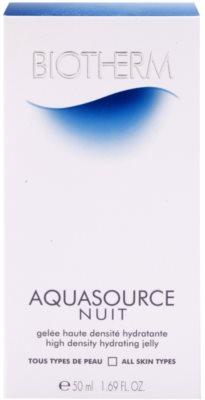 Biotherm Aquasource Nuit Feuchtigkeitsemulsion für alle Hauttypen 4