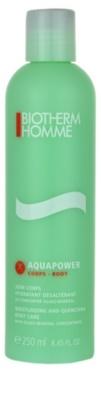 Biotherm Homme Aquapower leite corporal hidratante para todos os tipos de pele