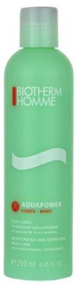 Biotherm Homme Aquapower tělové hydratační mléko pro všechny typy pokožky
