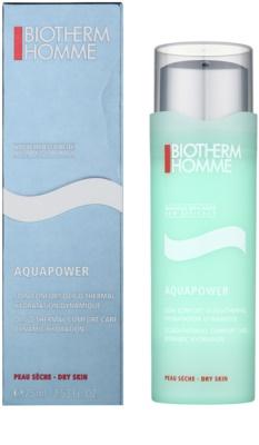 Biotherm Homme Aquapower hydratisierende Pflege für trockene Haut 1
