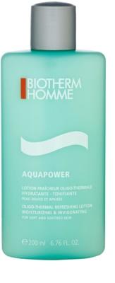 Biotherm Homme Aquapower nyugtató és frissítő krém minden bőrtípusra, beleértve az érzékeny bőrt is
