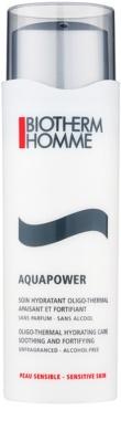 Biotherm Homme Aquapower зволожуючий догляд для заспокоєння та зміцнення чутливої шкіри