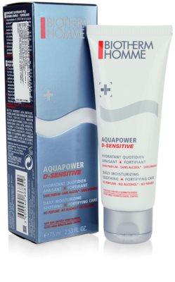 Biotherm Homme Aquapower gel hidratant pentru piele sensibila 1