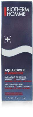 Biotherm Homme Aquapower gel hidratant pentru piele sensibila 2