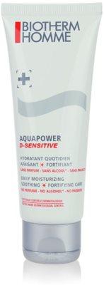 Biotherm Homme Aquapower gel hidratant pentru piele sensibila