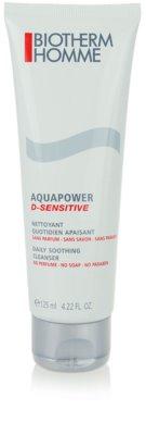 Biotherm Homme Aquapower čisticí gel pro citlivou pleť