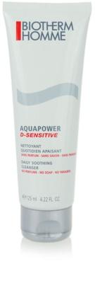 Biotherm Homme Aquapower Reinigungsgel  für empfindliche Haut