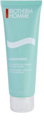 Biotherm Homme Aquapower osvěžující čisticí gel na obličej
