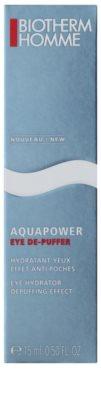Biotherm Homme Aquapower feuchtigkeitsspendendes Augengel gegen Schwellungen 2