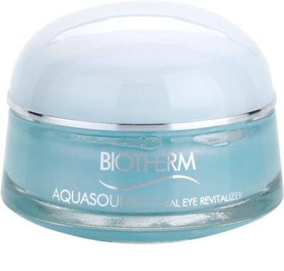 Biotherm Aquasource cuidado para os olhos sem olheiras e inchaços com efeito resfrescante