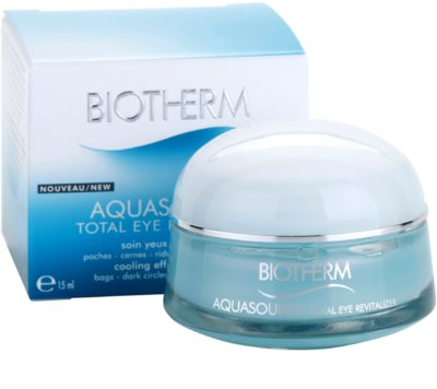 Biotherm Aquasource tratament pentru ochi umflati  cu efect racoritor 3