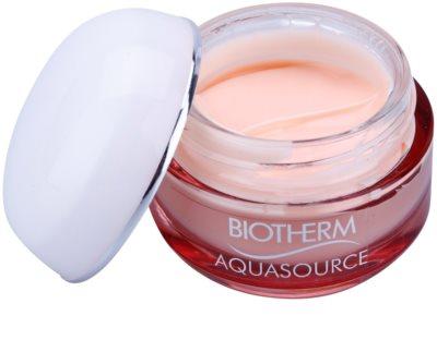 Biotherm Aquasource crema hidratante y nutritiva para pieles secas 1