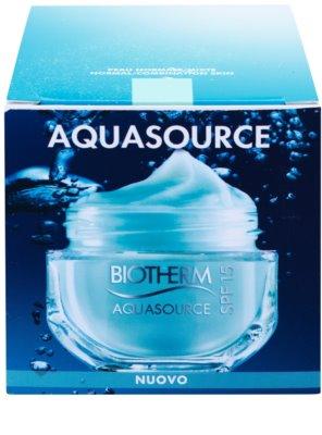 Biotherm Aquasource crema hidratante ligera  para pieles normales y mixtas 3