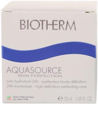 Biotherm Aquasource crema de zi hidratanta pentru toate tipurile de ten 2