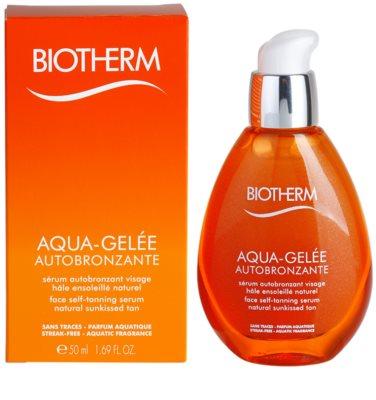 Biotherm Aqua-Gelée Autobronzante önbarnító szérum arcra 1