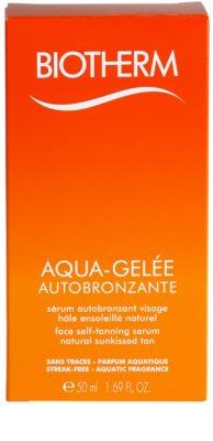Biotherm Aqua-Gelée Autobronzante önbarnító szérum arcra 2