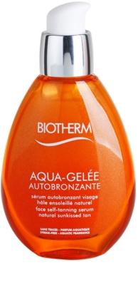 Biotherm Aqua-Gelée Autobronzante серум за лице за изкуствен тен